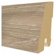 Plinta MDF Egger 60x17 mm, 2,4 m, culoare Stejar Trilogy capucino