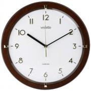 Vedette VP40020 - Reloj de pared analógico de cuarzo - madera