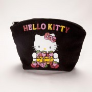 Saculet cosmetice panza Hello Kitty