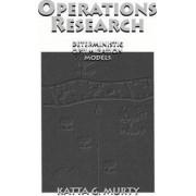 Operations Research by Katta Gopalakrishna Murty