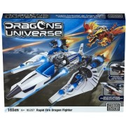 Mega Bloks 95207 Dragons Universe Rapid Fire Dragon Fighter