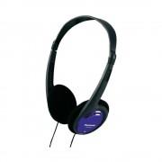Casti PanasonicRP-HT010E-A, cu banda, albastru
