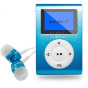 Reproductor Mp3 Sunstech DEDALOIII4GB Azul
