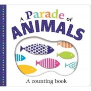 Picture Fit Board Books: A Parade of Animals (Large) by Roger Priddy