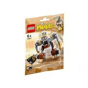 LEGO Mixels 41537 - Serie 5 Jinky Personaggio, Grigio/Beige