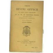 Ordo Divini Officii Ad Usum Cleri Parisiensis Ee. Ac Rr. Dd. Cardinalis Suhard, Tituli Sancti Honuphrii In Janiculo -1939