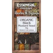 Boabe de mustar negru bio 50g Essential
