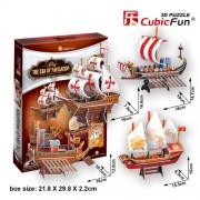 "CubicFun 3D Puzzle Ship-Series ""The Era of Navigation"""