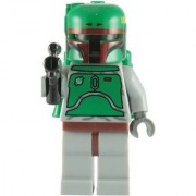 LEGO Star Wars: Boba Fett Minifigure with Blaster Rifle