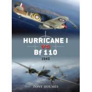 Hurricane Vs. Bf 110 by Tony Holmes