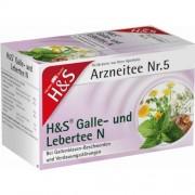 H&S Tee-Gesellschaft mbH & Co. KG H&S Galle- und Lebertee N Filterbeutel 20 St