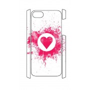 iPhone 5 en 5S Case splat hart