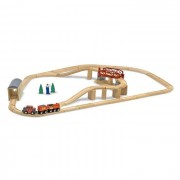 Melissa & Doug Ensemble De Train Pont Pivotant-Melissa And Doug