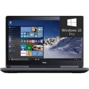 Laptop Dell Precision 7510 Intel Core i7-6820HQ 512GB 32GB nVidia Quadro M2000M 4GB Win10 Pro UHD Fingerprint