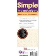 Simple Foundations Translucent Vellum Pa by C&t Publishing