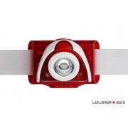 LANTERNA CAP LED LENSER SEO5 ROSU 180 lumeni 3 X AAA