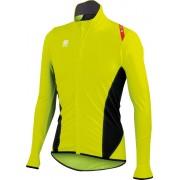 Sportful Fiandre Light No Rain Jersey - Yellow Fluo/Black - S