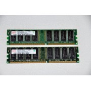 Kit Dual Channel Memorie Calculator DDR1 2x1 GB Hynix PC3200 400 MHz