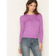 Polo Ralph Lauren Julianna Long Sleeve Sweater Stickade tröjor Lavender