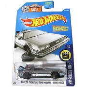 2016 Hot Wheels Screen Time Hover Mode Back To the Future Time Machine Delorean
