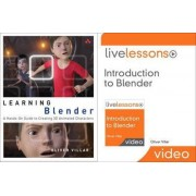 Learning Blender (Book) and Introduction to Blender Livelessons (Video Training) Bundle by Oliver Villar