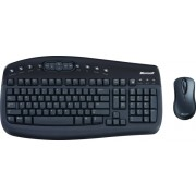 Kit Tastatura + Mouse MICROSOFT; model: DESKTOP 1000; layout: US; NEGRU; USB; WIRELESS; MULTIMEDIA