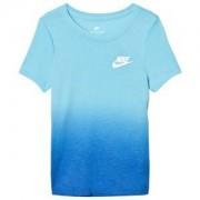 NIKE Dip Dye T-shirt Blå XL (13-15 years)