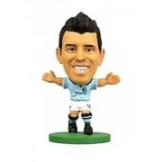 Soccerstarz Man City Sergio Aguero - Home Kit