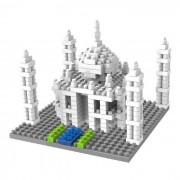 3D juguete de los mini diamantes bricolaje Taj Mahal edificio granulo erector set