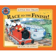 Little Red Trains Race to the Finish by Benedict Blathwayt