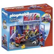 PLAYMOBIL 6157 box Pop-up - Motorcycle Workshop