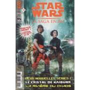 Star Wars : La Saga En B.D. / Bd N° 27 (Janvier 2011) : Le Cristal De Kaïburr / La Rivière Du Chaos / Star Wars Legacy / Les Commandos De Lando / Padmé : Un Songe D'été ( + Poster Géant )