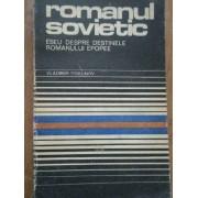 Romanul Sovietic Eseu Despre Destinele Romanului Epopee - Vladimir Piskunov