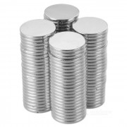 Super Strong Rare-Earth RE Magnets (18mm x 2mm / 100-Pack)