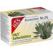 H&S Tee-Gesellschaft mbH & Co. KG H&S Salbeiblätter Tee Filterbeutel 20 St