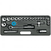 Dugókulcs készlet WP 24 részes 1/2col 10-30mm Kód:258240