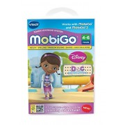 VTech - Mobigo Learning Game - Pack of 3 Games : Dora The Explorer, Hello Kitty & Doc McStuffing – Value Pack