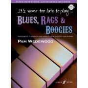 It's Never Too Late to Play Blues by Pam Wedgwood