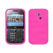 Accessory Master Etui en silicone pour Samsung Chat S3350 Rose