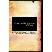 Essays on the Teaching of History by Archbold William Arthur Jobson