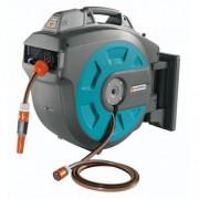 Derulator automat de perete pentru furtun gradina Gardena 35 Roll-UP Li-Ion