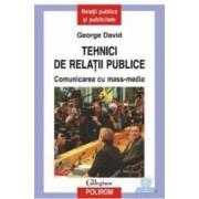 Tehnici de relatii publice - George David