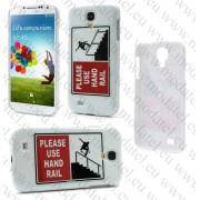 Samsung Galaxy S4 I9500 (калъф пластик) 'Skate Style'