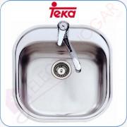 Fregadero Teka Stylo 1C Acero inoxidable 18/10, profundidad 165mm, 465