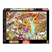 Educa 16344 - Ancient Rome - 1000 pieces - Stories of the History Puzzle