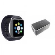 ZEMINI GT08 Smart Watch And Bluetooth Speaker (Bose_ BE8 Speaker) for ASUS ZENFONE 2 LASER