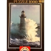 Educa 1000 Piece Puzzle AR MEN LIGHTHOUSE By Guillaume Plisson. Fully Interlocking 68 X 48cm
