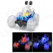 5-CH del control de radio R / C Rotacion Stunt Car - Azul