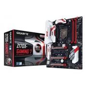 Gigabyte GA-Z170X-Gaming 7-EU Scheda Madre, Nero/Rosso