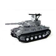 US Army Chaffee Tank World War 2 Complete Set made w real LEGO bricks - Battle Brick Custom Set